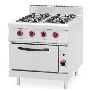 Gas Range 4-Burner with Oven