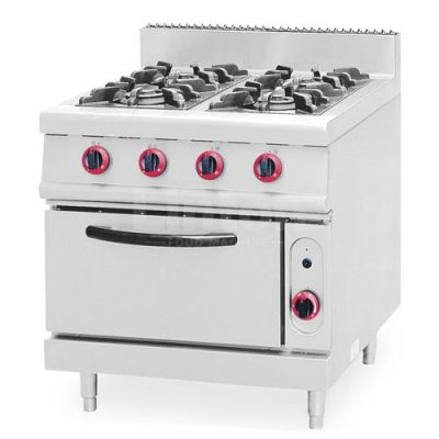 Gas Range 4-Burner with Oven